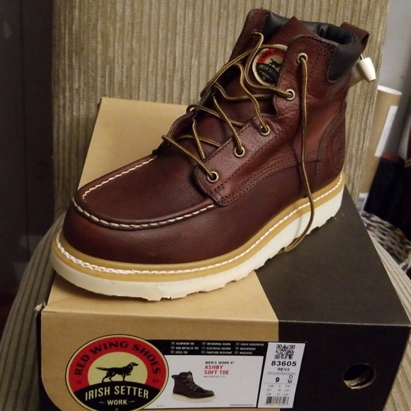 bfd257a547c Red Wing Irish Setter work boots